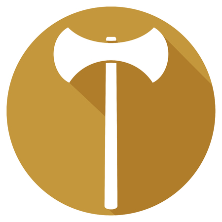 weaponry: axe flat icon