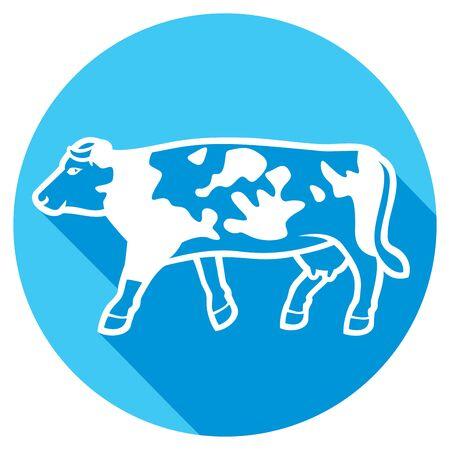 moo: cow flat icon