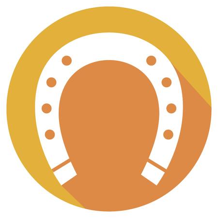 hoefijzer flat icon