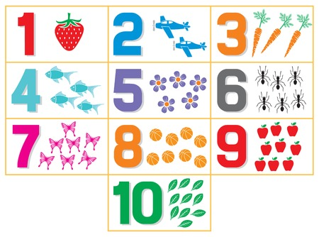 learning numbers for kids (counting game for kindergarten kids)