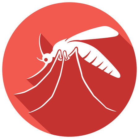 infect: mosquito flat icon