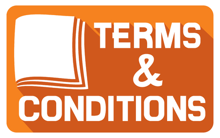 terms: terms and conditions flat icon