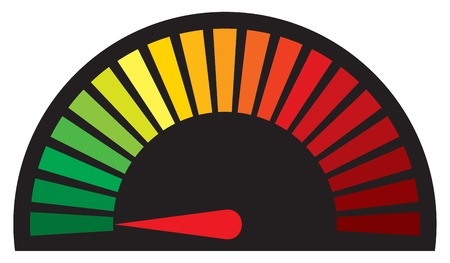km: vector speedometer (dashboard speedometer icon)