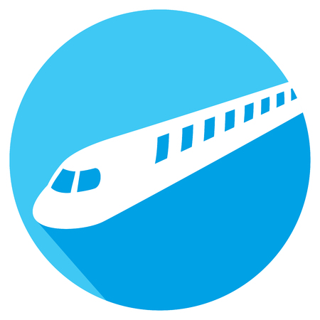 intercity: train flat icon