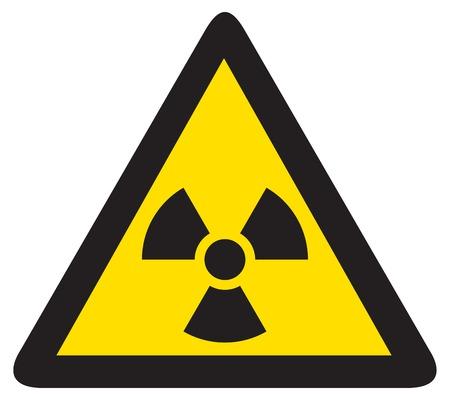 radiacion: radiación signo