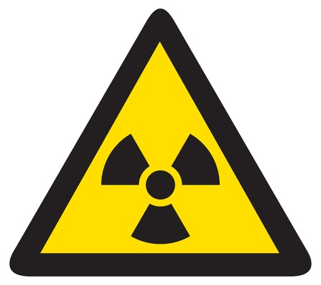 nuclear bomb: radiation sign