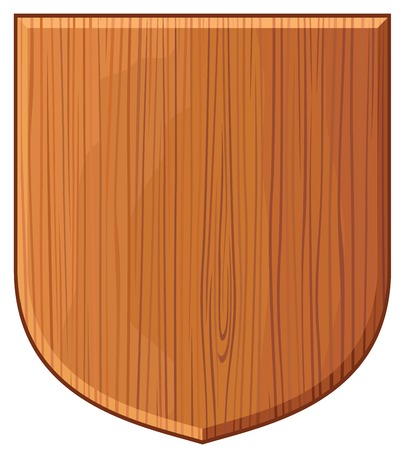 buckler: wooden plaque (wooden shield, wooden sign boards)
