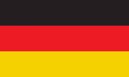 teutonic: flag of germany (official colors)