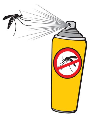 dangerous: anti mosquito spray (repellent can)
