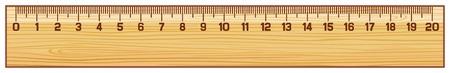 cm: wooden ruler