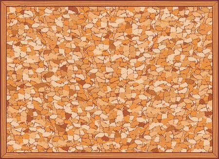 cork board: cork board vector illustration