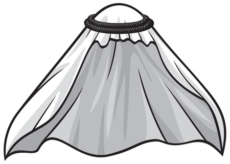 traditional arabic or muslim hat 일러스트