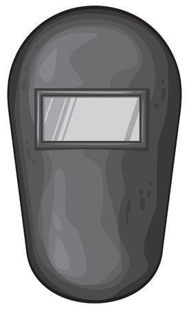 Welding mask vector illustration Illustration
