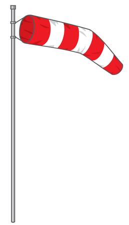windsock: windsock vector illustration