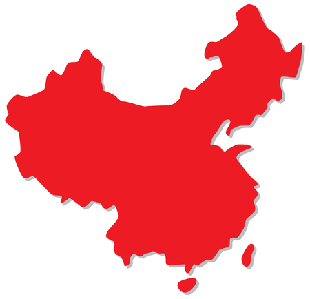 Map of Peoples Republic of China