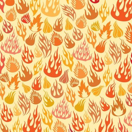 Flame pattern.