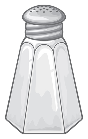 salt shaker vector illustration