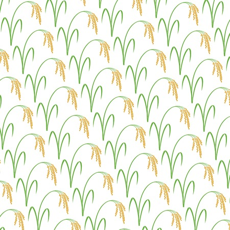 Background pattern with rice.
