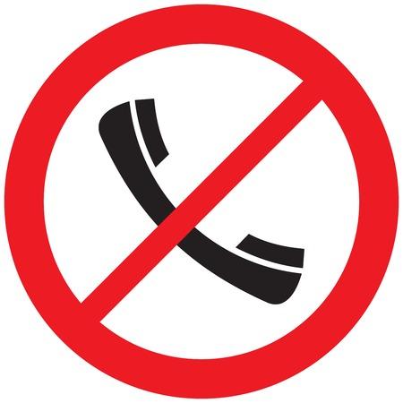 ベクトルなし携帯電話のサイン