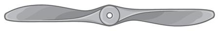 Airplane propeller vector illustration