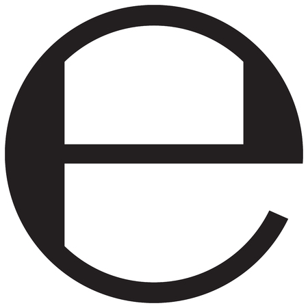 Estimated sign packaging symbol Illustration