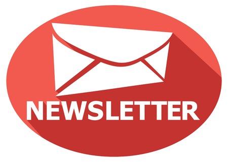 newsletter flat icon