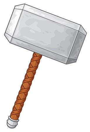 Hammer of Thor vector illustration