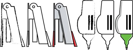 staple: Staple and correction pen
