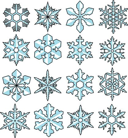 snowflake  Stock Vector - 16429339
