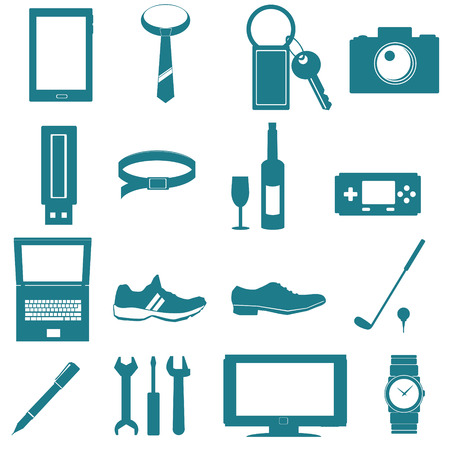 equipment for men icon on white background
