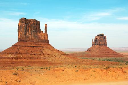 Monument Valley National Park, Arizona. Mittens
