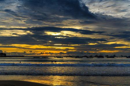 San Juan del Sur Sunset in Nicaragua.