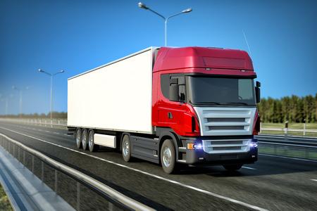 物流 - 貨物自動車運送 写真素材
