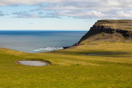 Latrabjarg cliffs. West Fjords, Iceland