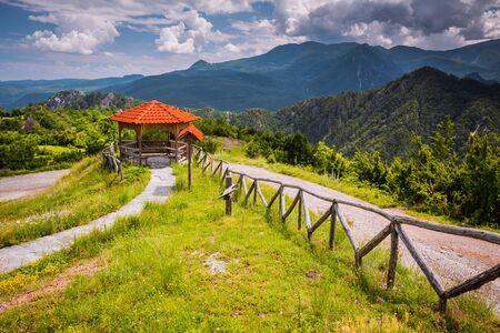 Mountains view. Loutra Loutrakiou