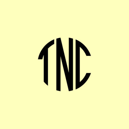 Creative Rounded Initial Letters TNC Logo. It will be suitable for which company or brand name start those initial.