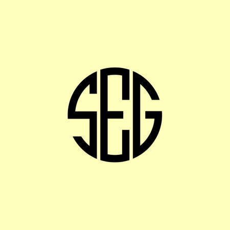 Creative Rounded Initial Letters SEG Logo. It will be suitable for which company or brand name start those initial.