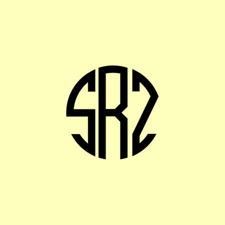 Creative Rounded Initial Letters SRZ Logo. It will be suitable for which company or brand name start those initial.