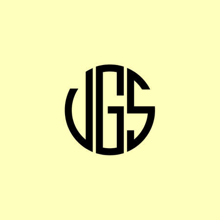Creative Rounded Initial Letters VGS Logo. It will be suitable for which company or brand name start those initial. Logó