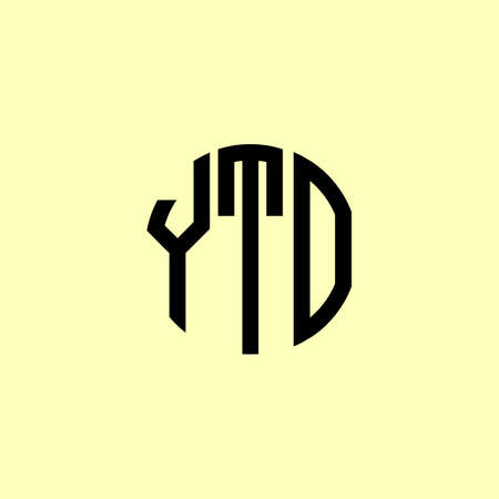 Creative Rounded Initial Letters YTO Logo. It will be suitable for which company or brand name start those initial.