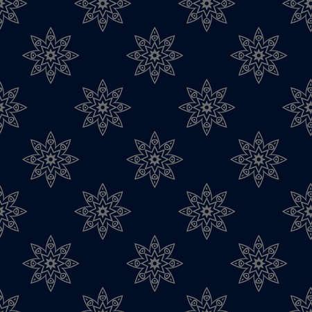 Islamic Seamless Pattern Design Vector Illustration.