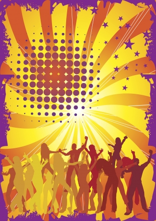 exotic gleam: Dance Illustration