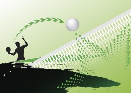 Tennis de table  Banque d'images - 20052233
