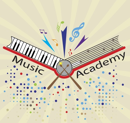 chanson: Music Academy Illustration