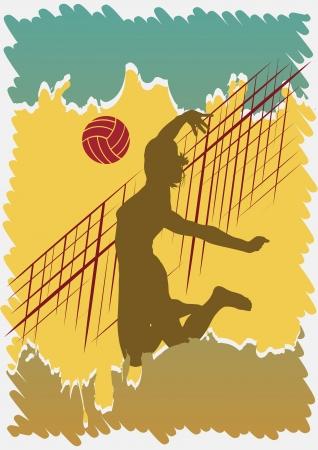 バレーボール ポスター