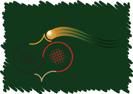 Table tennis logo Illustration