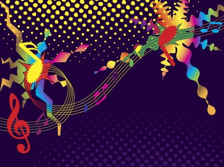 chanson: Music background