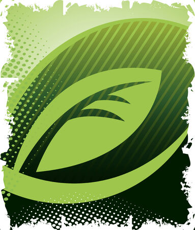 verdant: Abstract eco background
