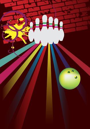 bowling pin: Bowling club