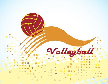 Volleyball symbol Vector